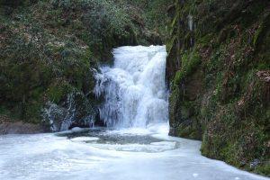 Zu den Laufbachwasserfällen bei Loffenau