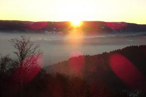 Der Sonne entgegen - eine Sonnenaufgangswanderung