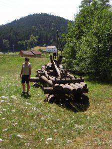 Auf Jockeles Flößer-Weg in Enzklösterle